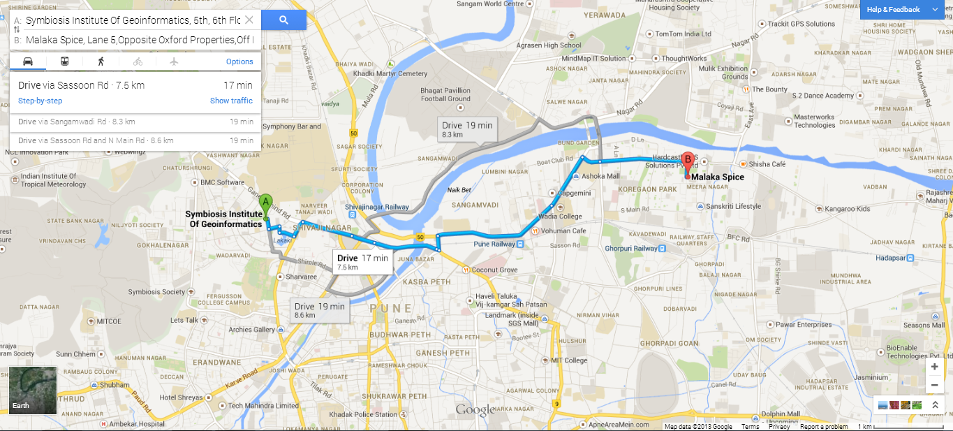 Why you should be excited about the New Google Maps – Maps and Directions Driving Route